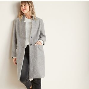 Old Navy Relaxed Soft-Brushed Long coat